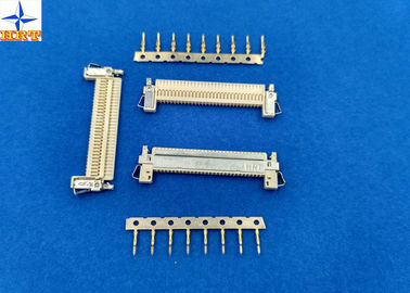 Cina 1 Row LVDS Display Connector , Wire To Board Connector 1.0mm Exact Size Equivalent pabrik