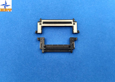 Cina One Row 0.5mm Pitch Lvds Display Connector Type With Stainessless Shell pabrik