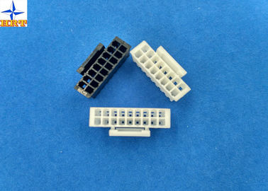 Cina Dual Row PA66 Lvds Display Connector Housing With Lock Pitch 2.00mm pabrik